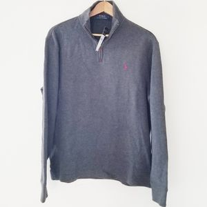Polo Ralph Lauren zip pull over new with tags